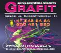 """Agencja Poligraficzno-Reklamowa """"GRAFIT"""" Gładyś Renata Kielce i okolice"""