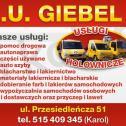 F.H.U Blacharstwo-Lakiernictwo Karol Giebel Węgorzewo i okolice