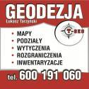 GEODEZJA 600-191-060 - Usługi Geodezyjno-Kartograficzne T-GEO Łukasz Tarzyński Aleksandrów Kujawski i okolice