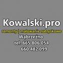 Usługi remontowe / Malowanie natryskowe agregatem - Kowalski.pro Wąbrzeźno i okolice