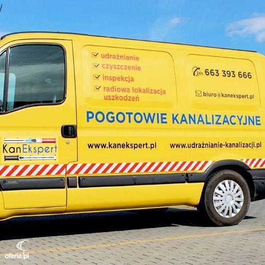 Bardzo dobra KanEkspert Pogotowie Kanalizacyjne • Oferia.pl ZY35