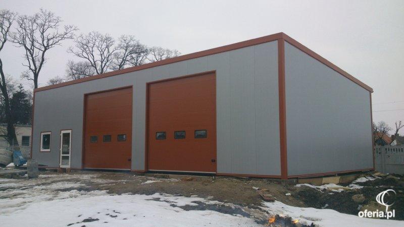 Góra Zlecę wykonanie hali/budynku z płyty warstwowej na punkt mechanika EH82