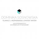 Tłumacz j.hiszpańskiego - Dominika Sosnowska Kolsko i okolice