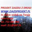 Projekt zjazdu z drogi - Zbigniew Lebica Wieliczka i okolice
