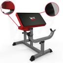 3D wizualizacje - Preacher bench