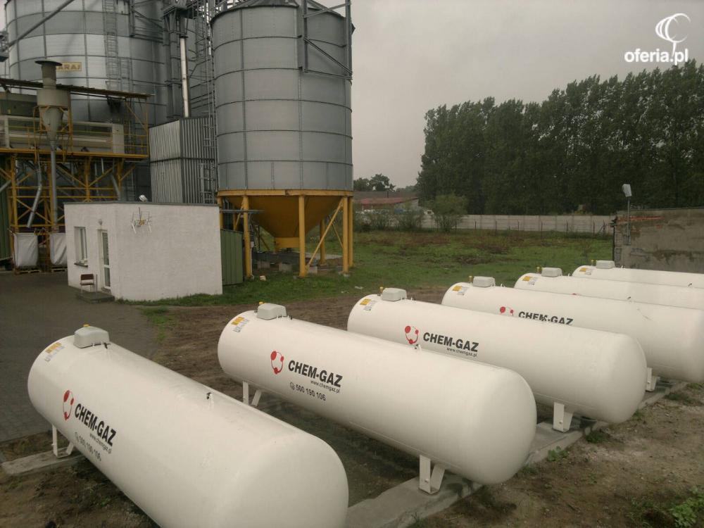 Ogromny ZBIORNIK NA GAZ 2700l, BUTLA NA GAZ PROPAN,LPG - CHEM-GAZ Sp. z VR83