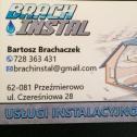 Brach-Instal usługi instalacyjno remontowe Bartosz Brachaczek Przeźmierowo i okolice
