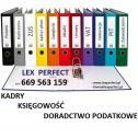 KSIĘGOWOŚĆ  DORADCTWO POD - Biuro Rachunkowe Lex Perfect Księgowość Kadry Doradzctwo Podatkowe Warszawa Ursus i okolice