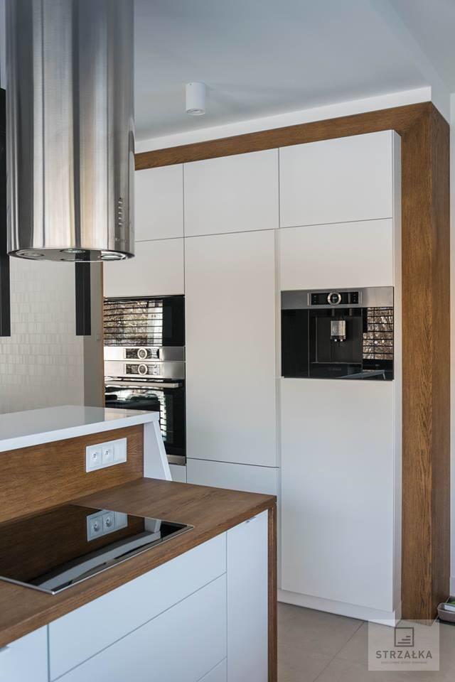 Kuchnie Bialo Drewniane Q Housepl