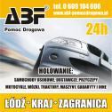 POMOC DROGOWA  LAWETA 24H - ABF Łódź i okolice