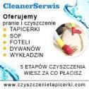 Czyszczenie tapicerki - Firma CleanerSerwis Kraków i okolice