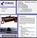 Budowa maszyn,cięcie wodą - STIMASZ         Stanisław Purzycki Drawsko i okolice